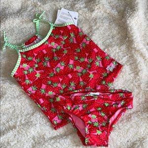 4 Dolfin Uglies Swimsuit Tankini 2 Piece Girls